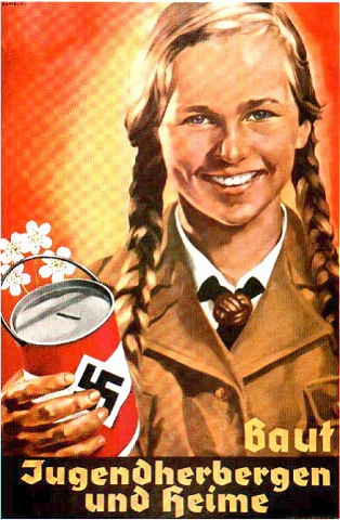Nazi Propaganda Girl