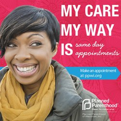 planned parenthood happy girl