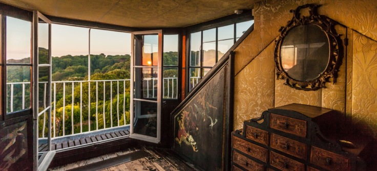 Visit Guernsey shoot at Victor Hugo's Hauteville House